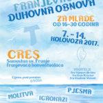 Cres - duhovna obnova 2017 - plakat